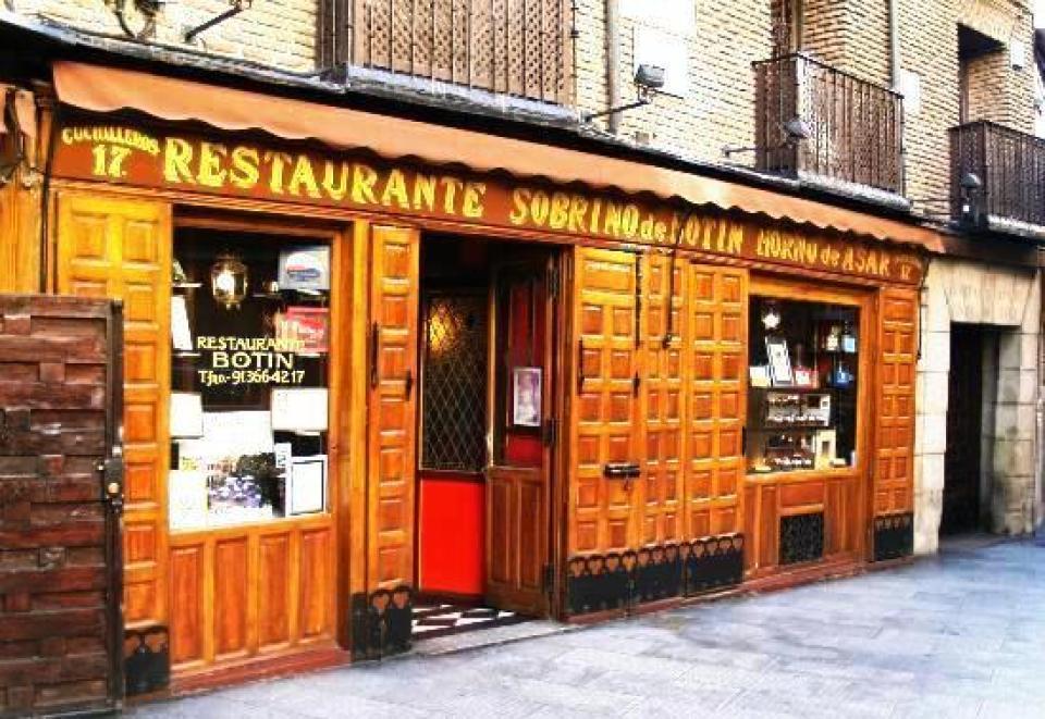 Restaurante sobrinos de Botín Te Veo en Madrid