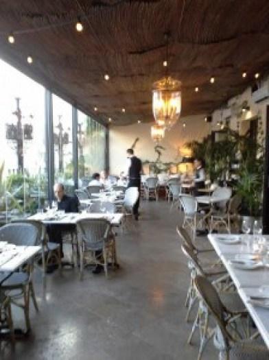 Restaurante Ático Hotel the Principal Te Veo en Madrid