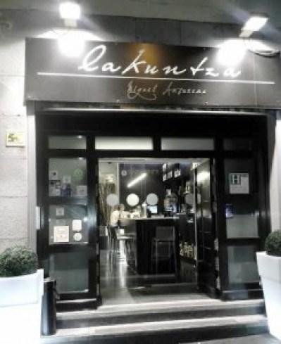 Restaurante Lakuntza entrada Te Veo en Madrdi