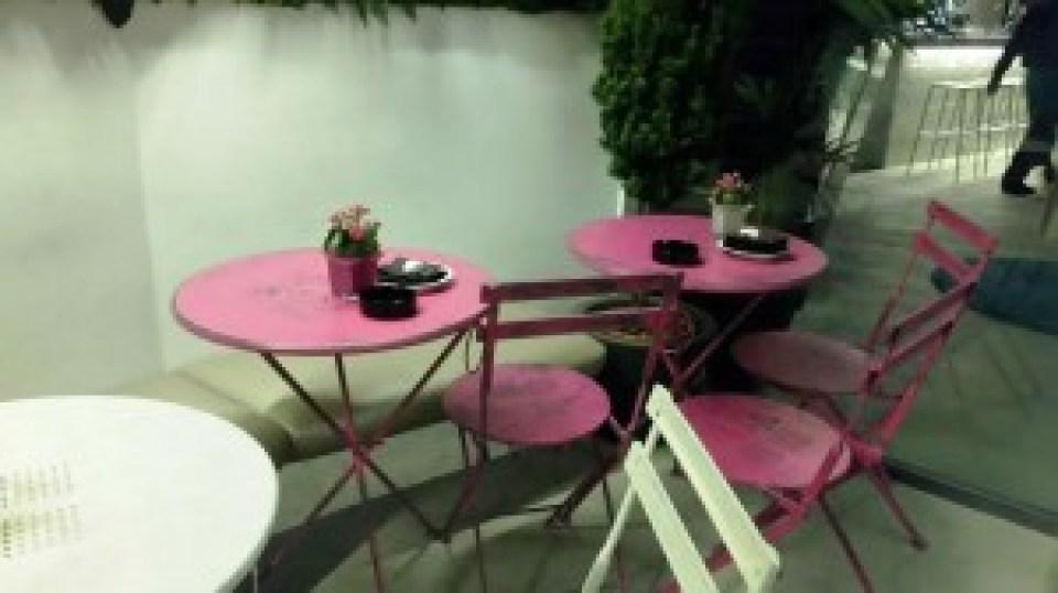 Restaurante Namit terraza Te Veo en Madrid