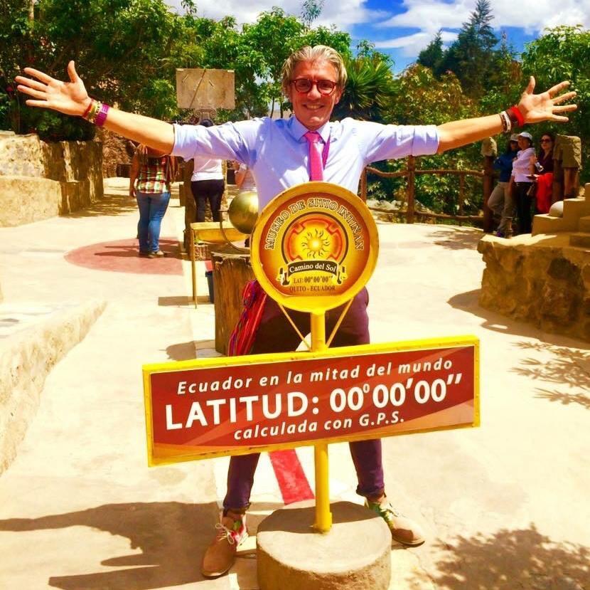 All'equatore in Ecuador