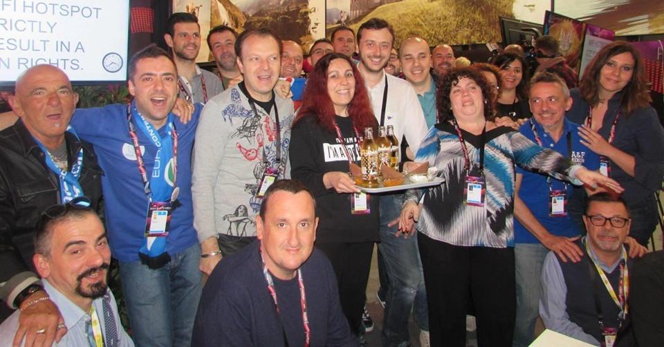 Delegazione italiana 2015