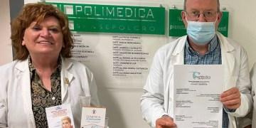 La dottoressa Mariella Pellegrini e il dottor Antonio Cominazzi