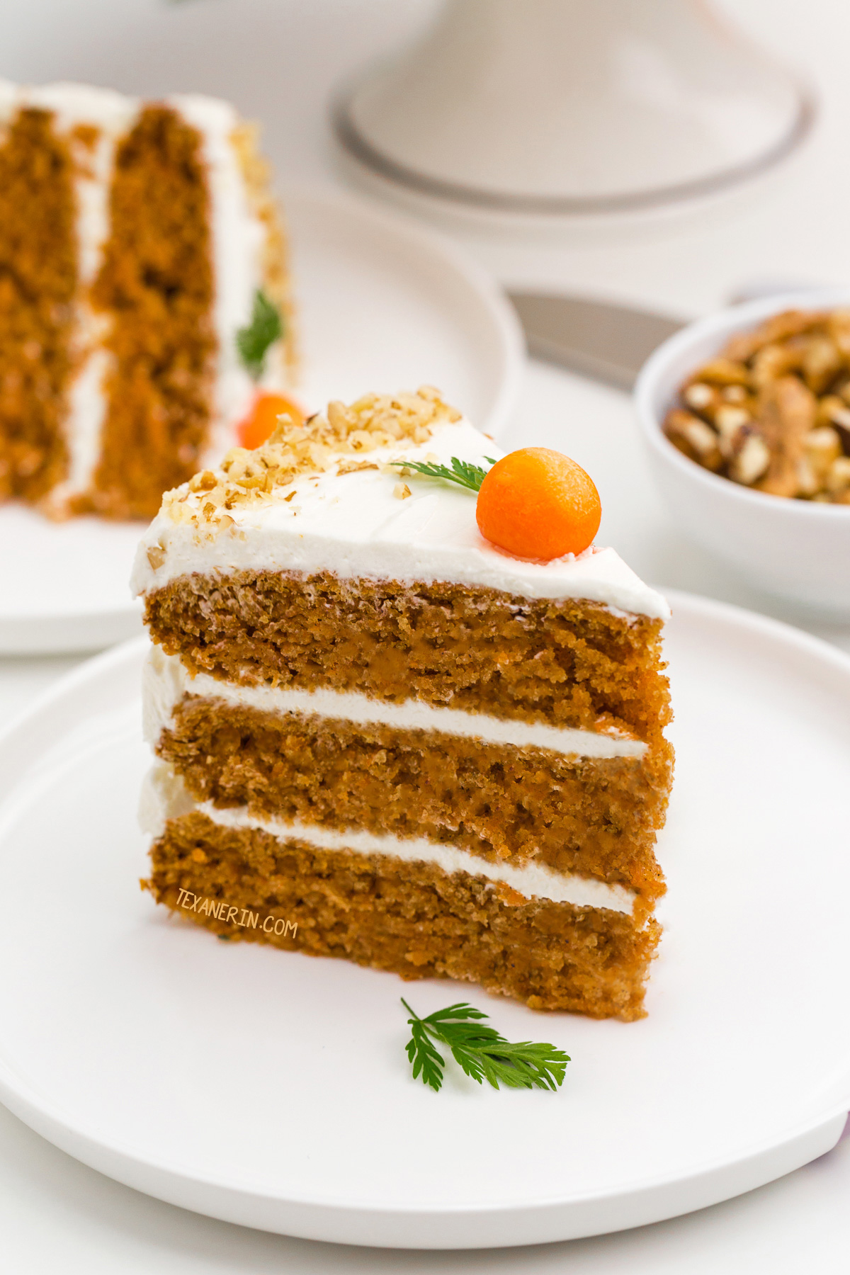 Healthy Carrot Cake Texanerin Baking