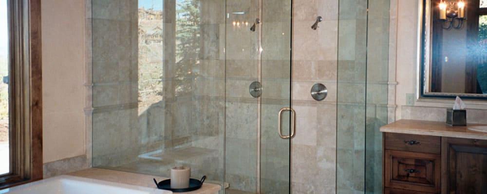 frameless glass shower doors Houston TX