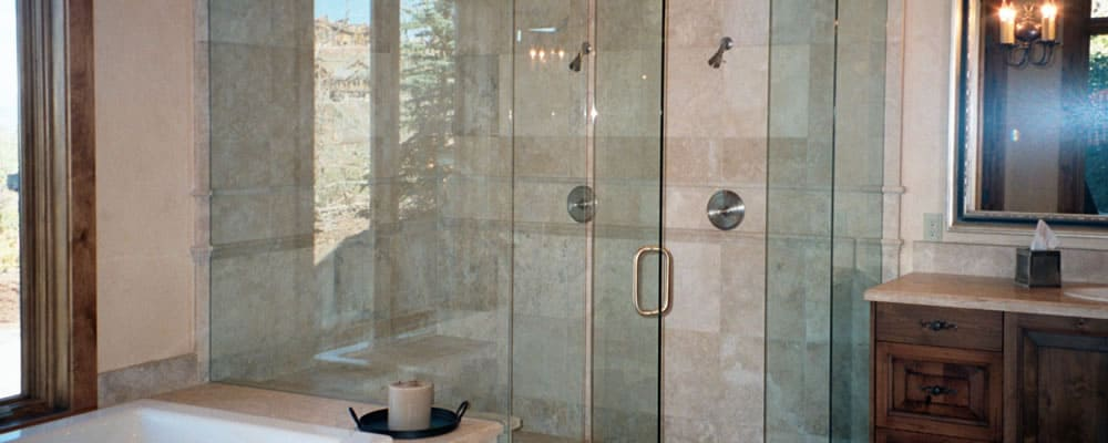 frameless glass shower doors Houston TX