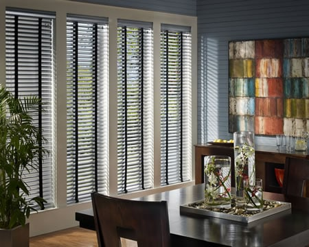 Blinds in home office - The Woodlands, TX