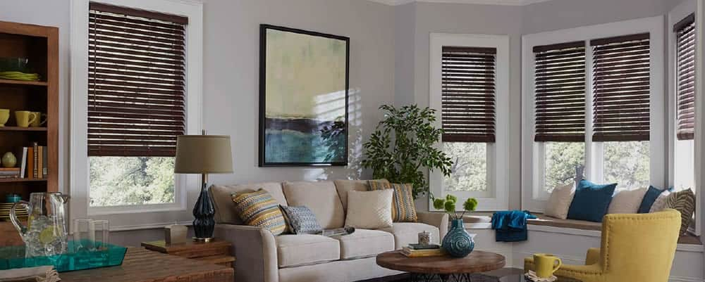 Faux and Real Wood Blinds - Katy, TX