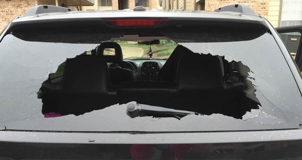 Rear window auto glass repair and replacement The Woodlands, TX