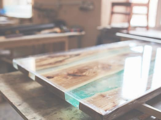 custom wood table with glass table top cut to size glass company houston tx