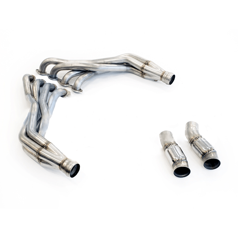 tsp 2016 camaro ss 1 7 8 stainless steel long tube headers catted connection pipes