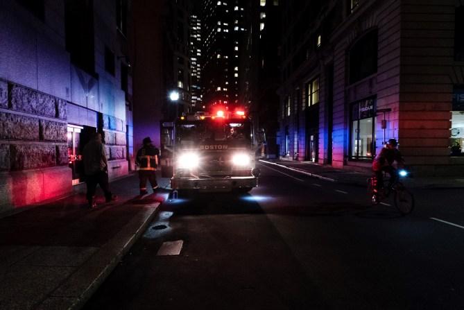 emergency vehicle firetruck