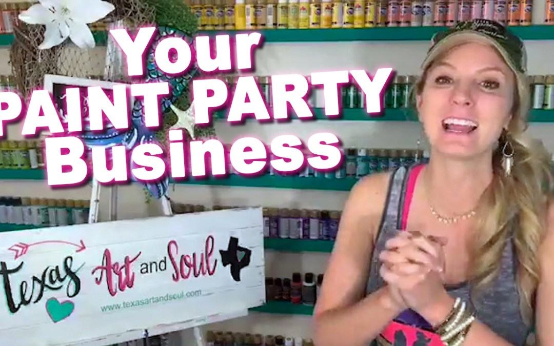 Your Paint Party Business & How to Protect Your Dreams!