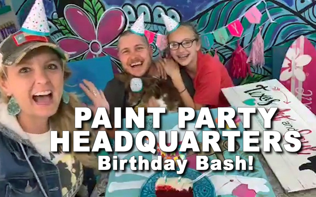 Overcome Impostor Syndrome & Paint with Me Birthday Bash!