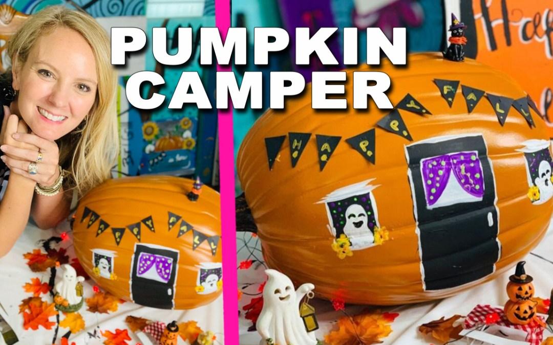 Pumpkin Camper
