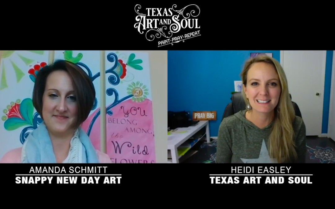 Meet Amanda! Find out why she teaches Paint Parties!