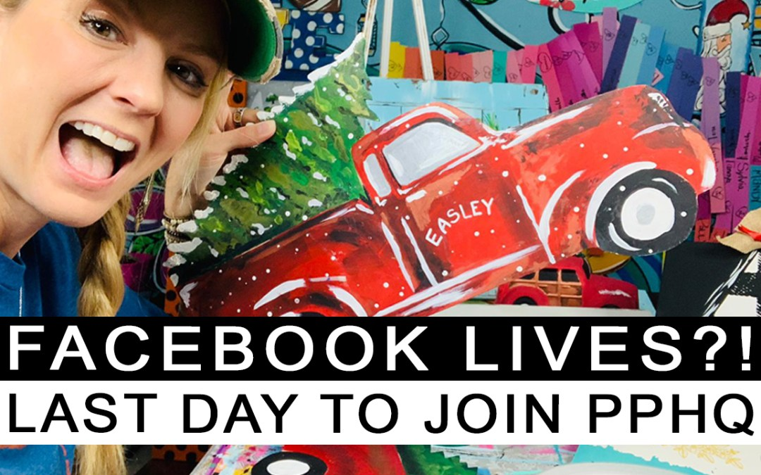 How to use Facebook LIVES to get Prepaid Painters!