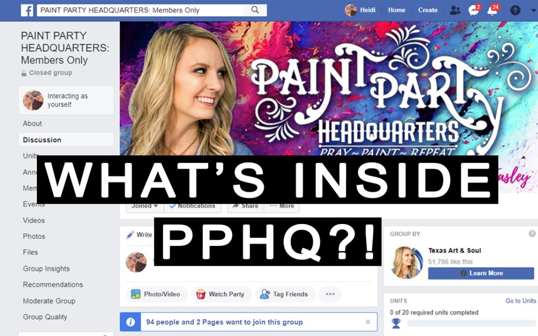 What the heck is in Paint Party Headquarters and how will it help?!?