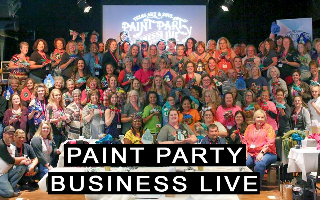 Paint Party Business LIVE 2019