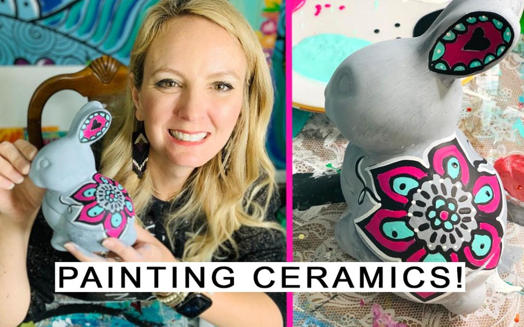 Ceramic Bunny!