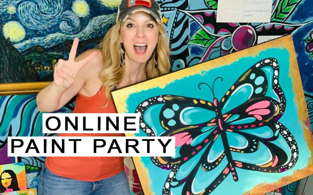 Online Paint Party