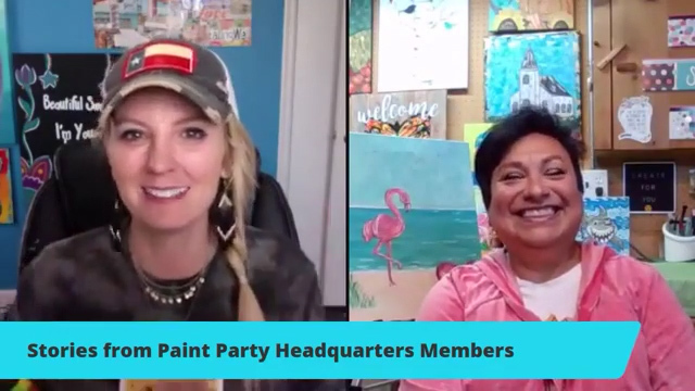 Ruth's Story and How Paint Party Headquarters has Helped Her!