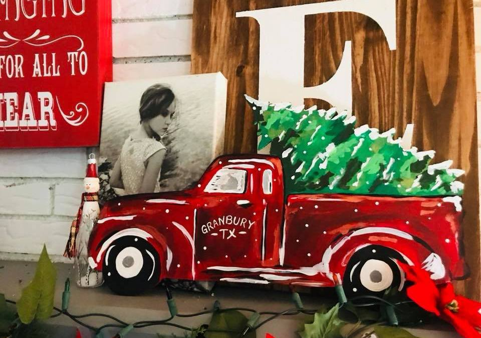 How to Paint a Truck with a Christmas Tree