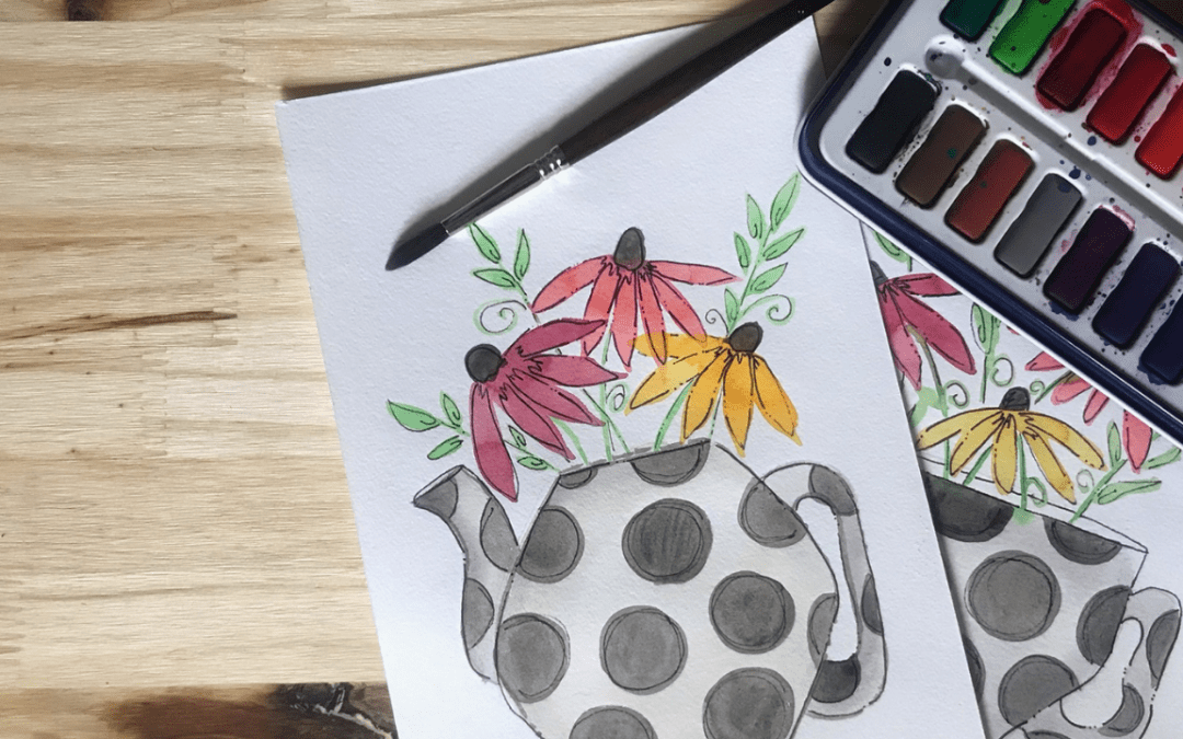 How One Person Turned Her Love of Watercolor Into A Painting Membership