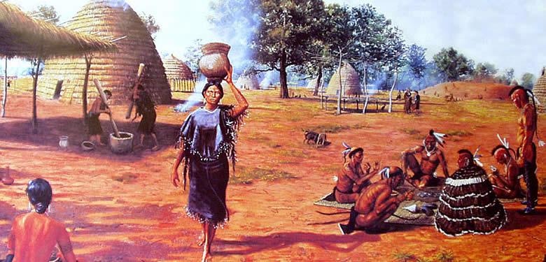 Transportation Caddo Hunting Indians