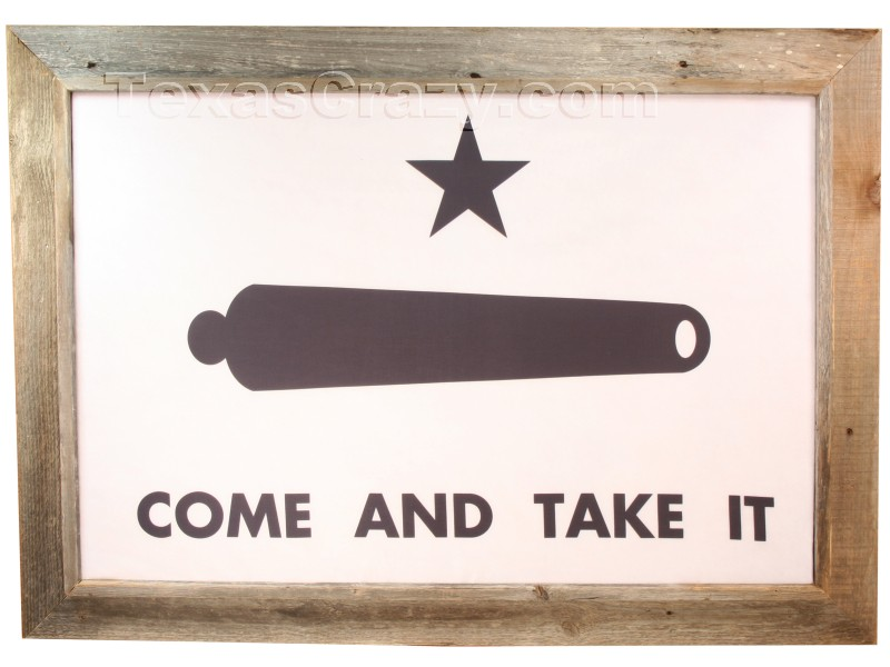Come And Take It Flag Gonzales Texas Star