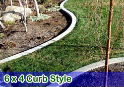 6 x 4 style curbing