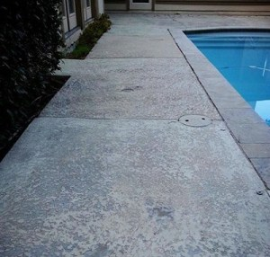 Resurfacing Concrete in Houston Before Image