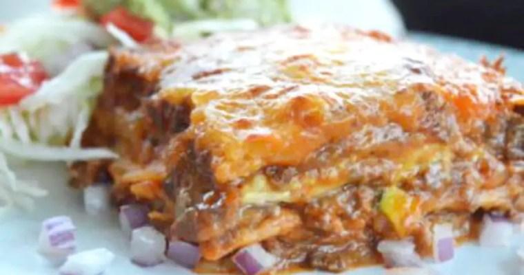 Tex-Mex Enchilada Casserole – Low Carb