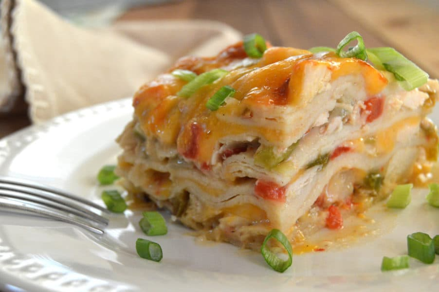 King Ranch Chicken Casserole is the perfect Tex-Mex comfort food....creamy, cheesy, and spicy, definite crowd pleaser!