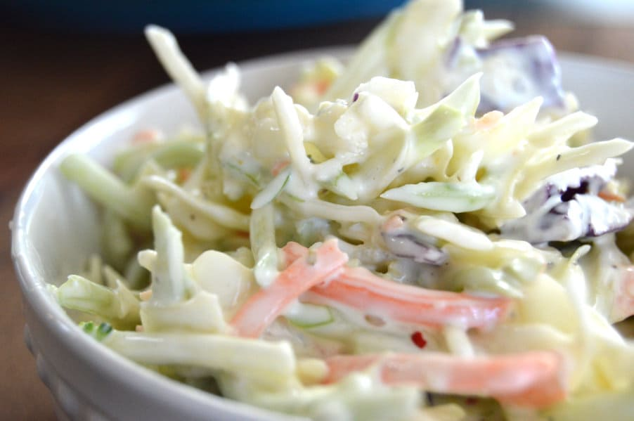 Classic Southern Creamy Coleslaw