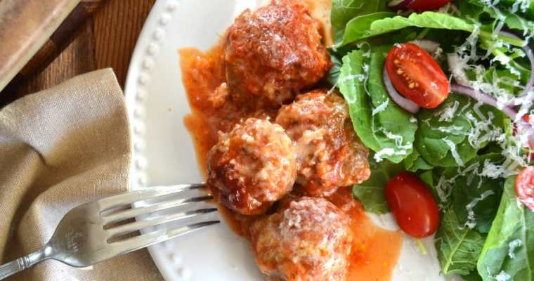 Italian Style Venison Meatballs