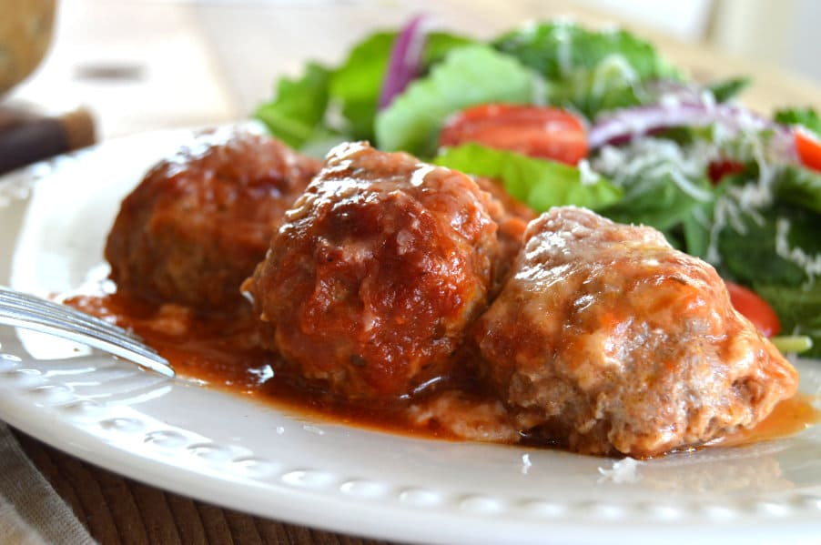 Italian Style Venison Meatballs - Gluten Free & Low Carb