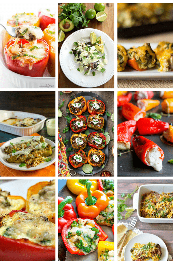 9 Scrumptious (& Easy) Stuffed Pepper Recipes