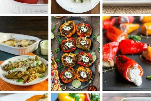 9 Scrumptious (& Easy) Stuffed Pepper Recipes