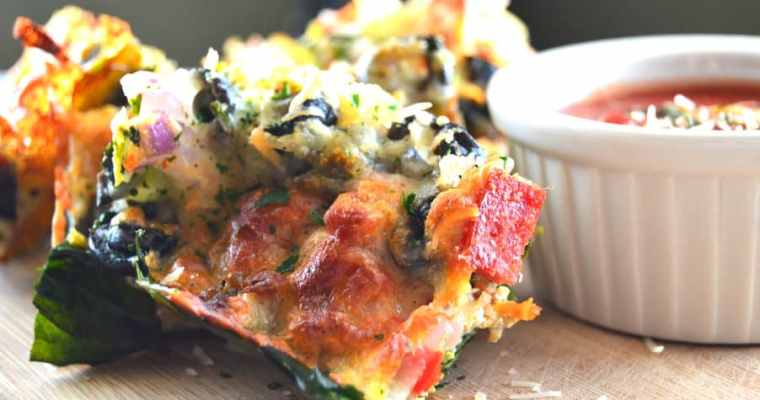 Loaded Pizza Bars – Low Carb