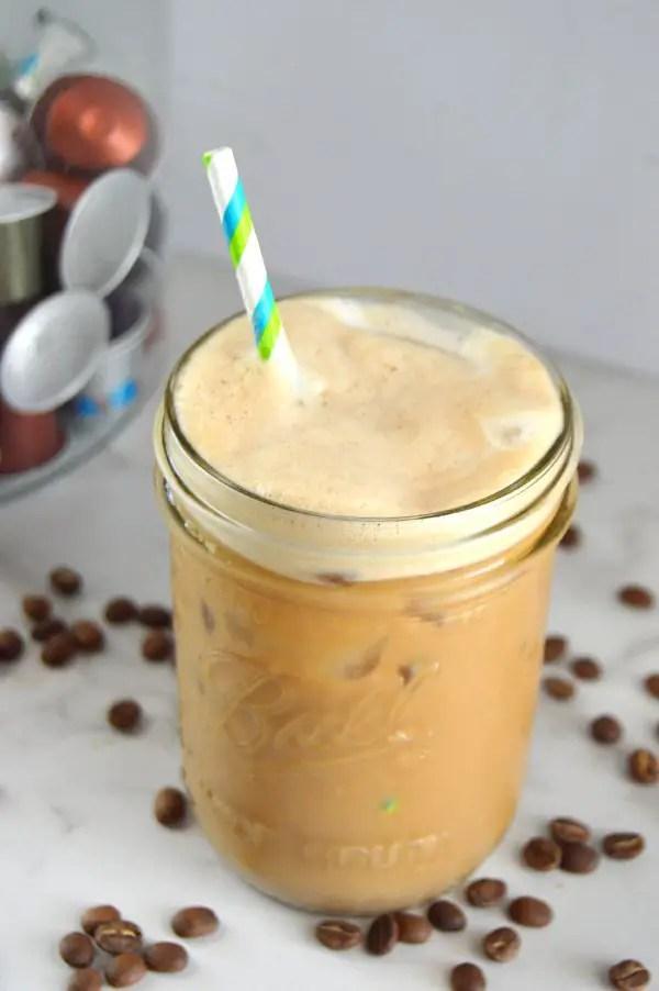 Keto Iced Latte dairy free