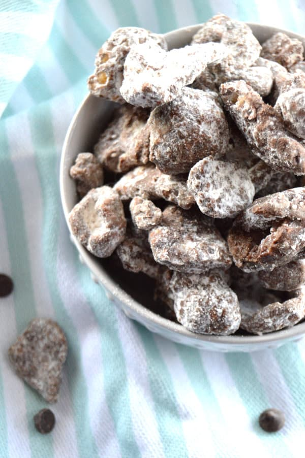 Low carb Keto Muddy Buddy Puppy Chow