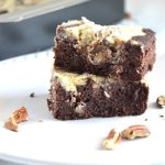 Coconut Pecan Cheesecake Brownie Bars