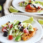 Tex-Mex Chicken Taco Pizza - Low Carb, Keto, Gluten Free