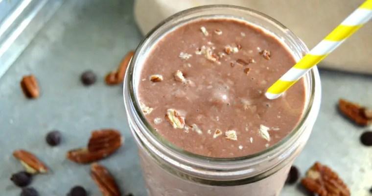 Dairy Free Chocolate Pecan Keto Shake