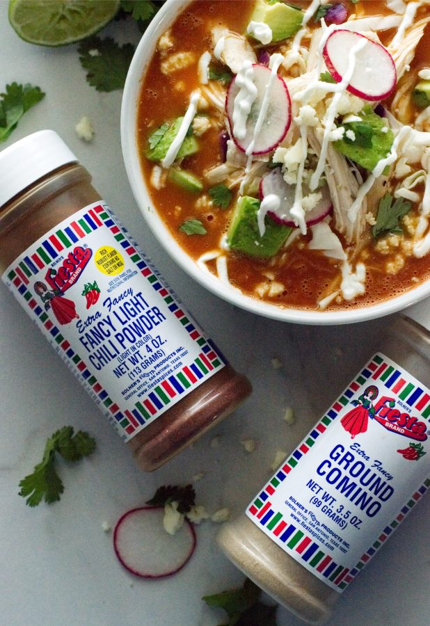 Mexican Tomato Soup with Spices