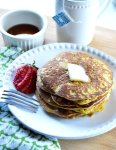 Low Carb Peanut Butter Pancakes