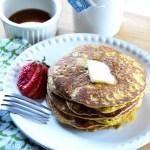 Low Carb Peanut Butter Pancakes