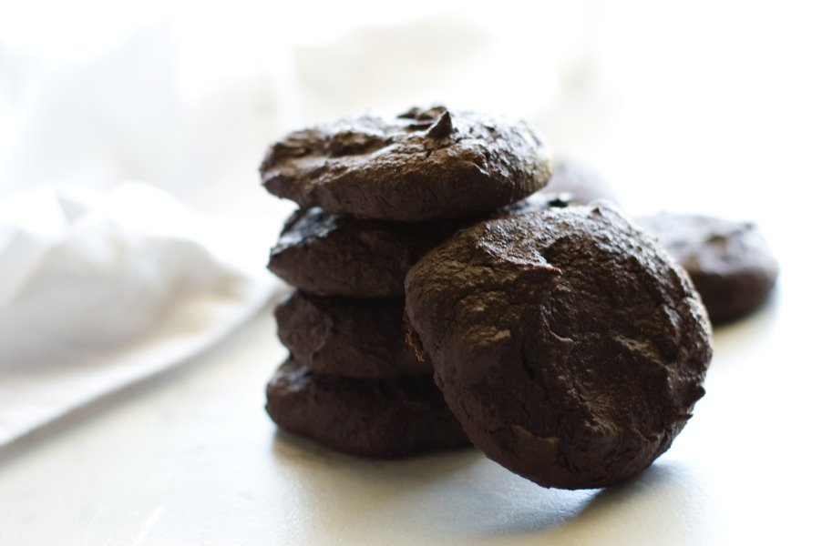 Keto Low Carb Double Fudge Cookies - Gluten Free