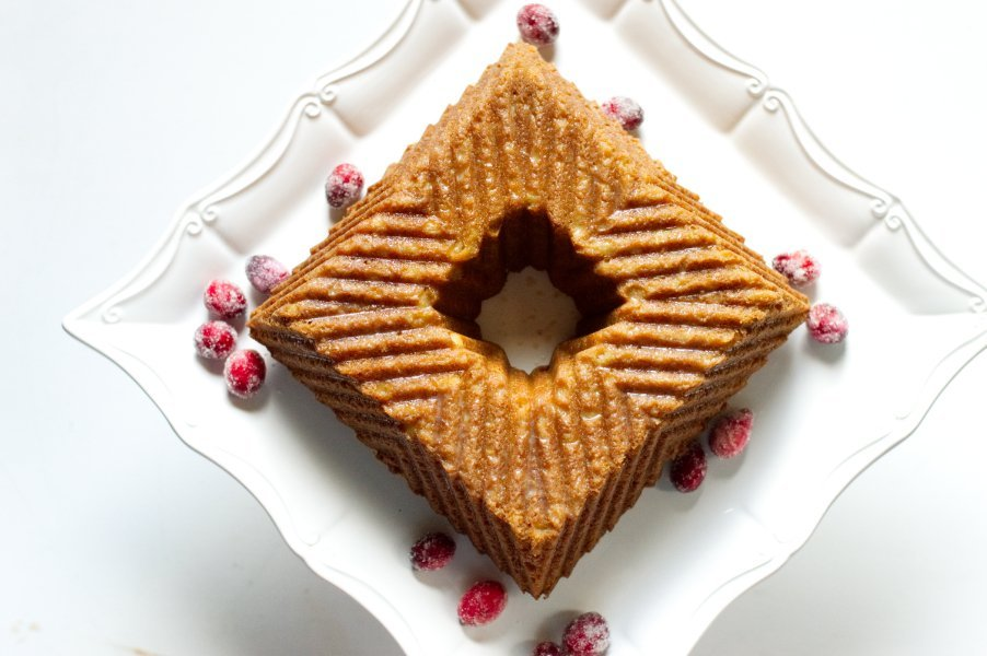 Keto Rum Cake - Square Bundt, Low Carb, Gluten Free